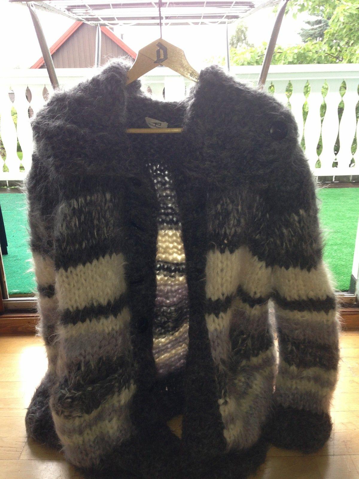 6bd27430 Strikket mohair cardigan | FINN.no