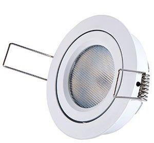 LED Downlight 8W Lavtbyggenede. Høyde 27mm