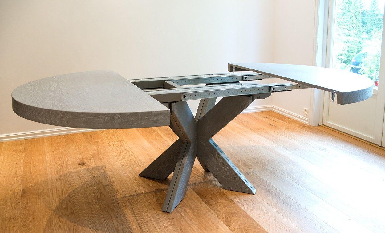 Topnotch Cross Rundt spisebord - med mulighet for tilleggsplater!   FINN.no PX-87