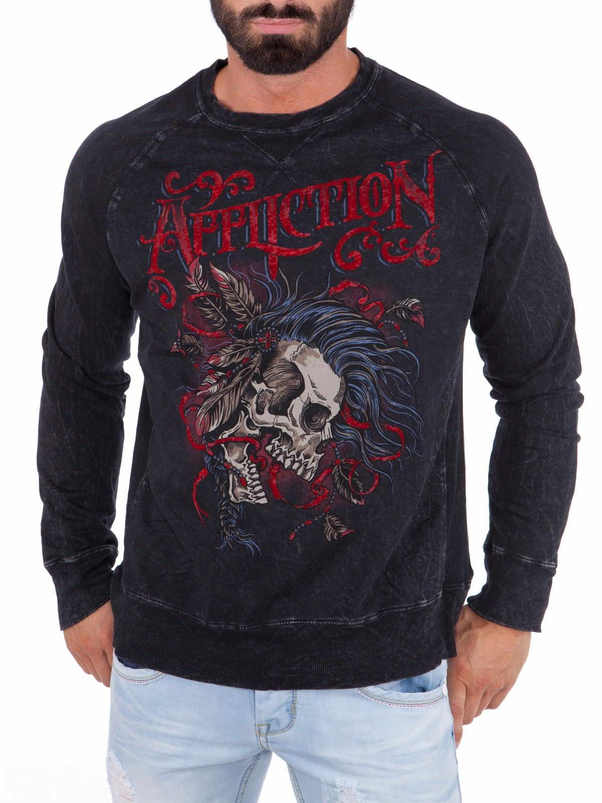 bad2a915 Battle Cry Affliction Genser - Svart | FINN.no