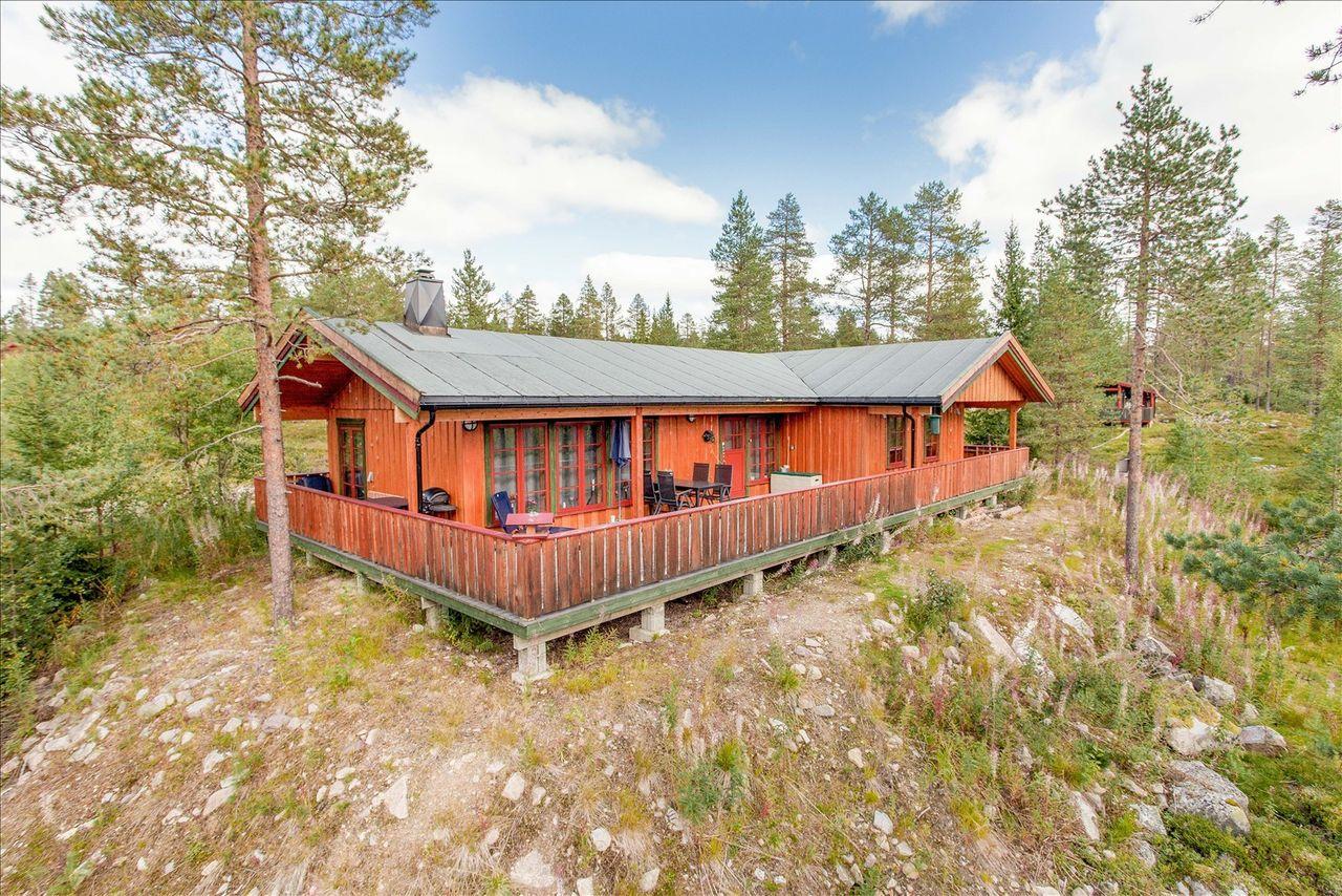 Trysil-Knuts Fjellverden: Velholdt, moderne og romslig hytte med stor terrasse