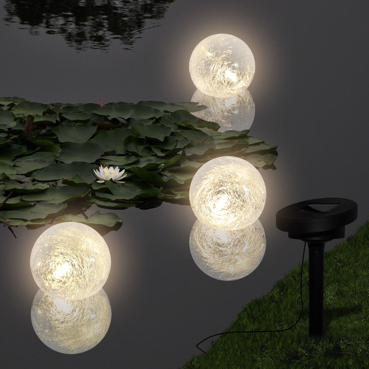Solcelledrevet Vann Flytende LED Lys (40869)   FINN.no
