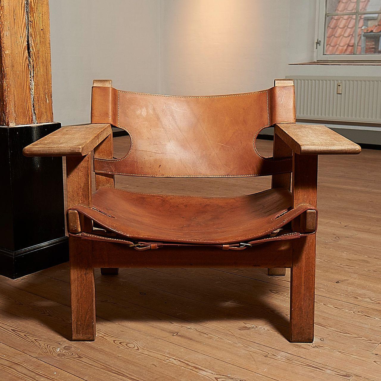 Børge Mogensen: Hvilestol ' Den spanske stol' , nummeret