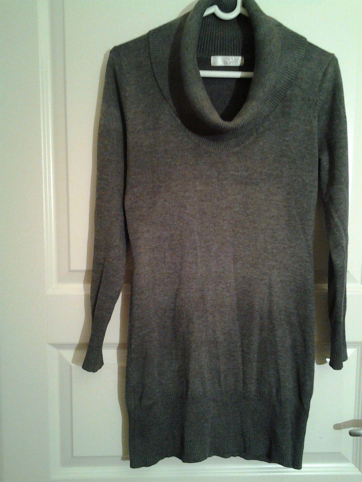 db1b79a1 70% ULL høyhalset kjole - genser. MØRK GRÅ. Fra Tyrkia. | FINN.no