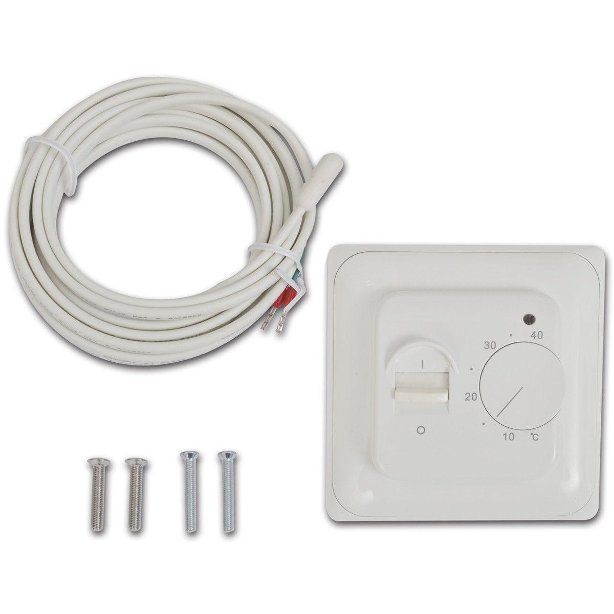 Unik Gulvvarme Termostat med Sensor (141339) | FINN.no RK23