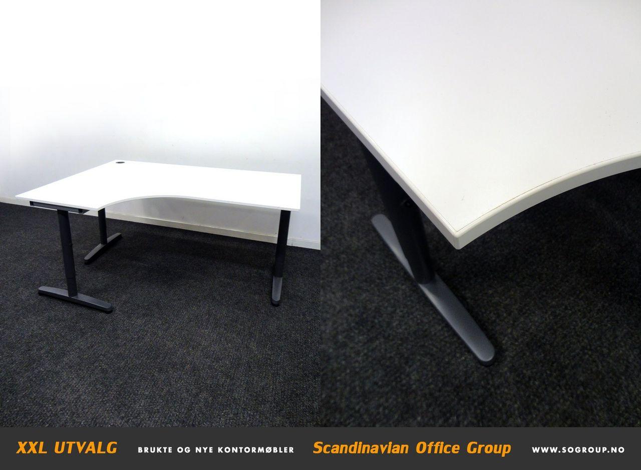 Ikea Galant skrivebord, 160x120 cm MIDLERTIDIG UTSOLGT