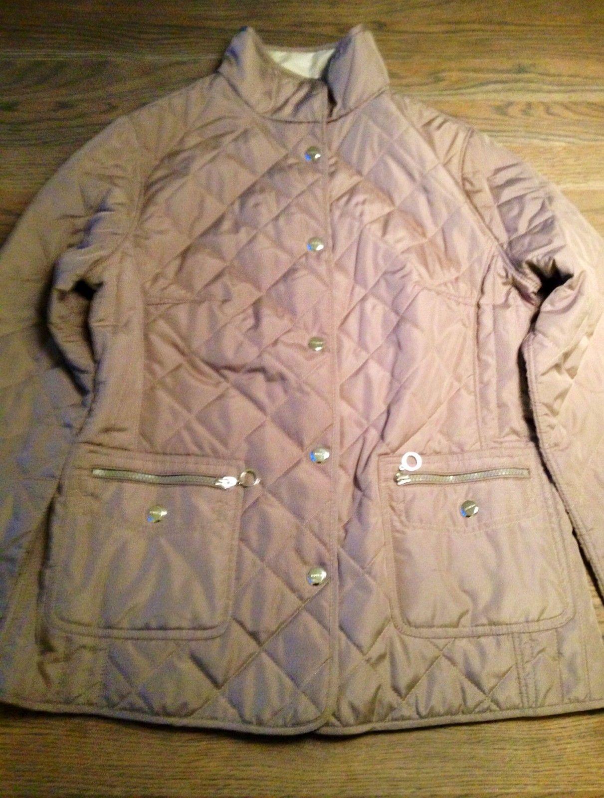 795008e9 Danwear jakke i beige/offwhite. Kan brukes på begge sider! God deal ...
