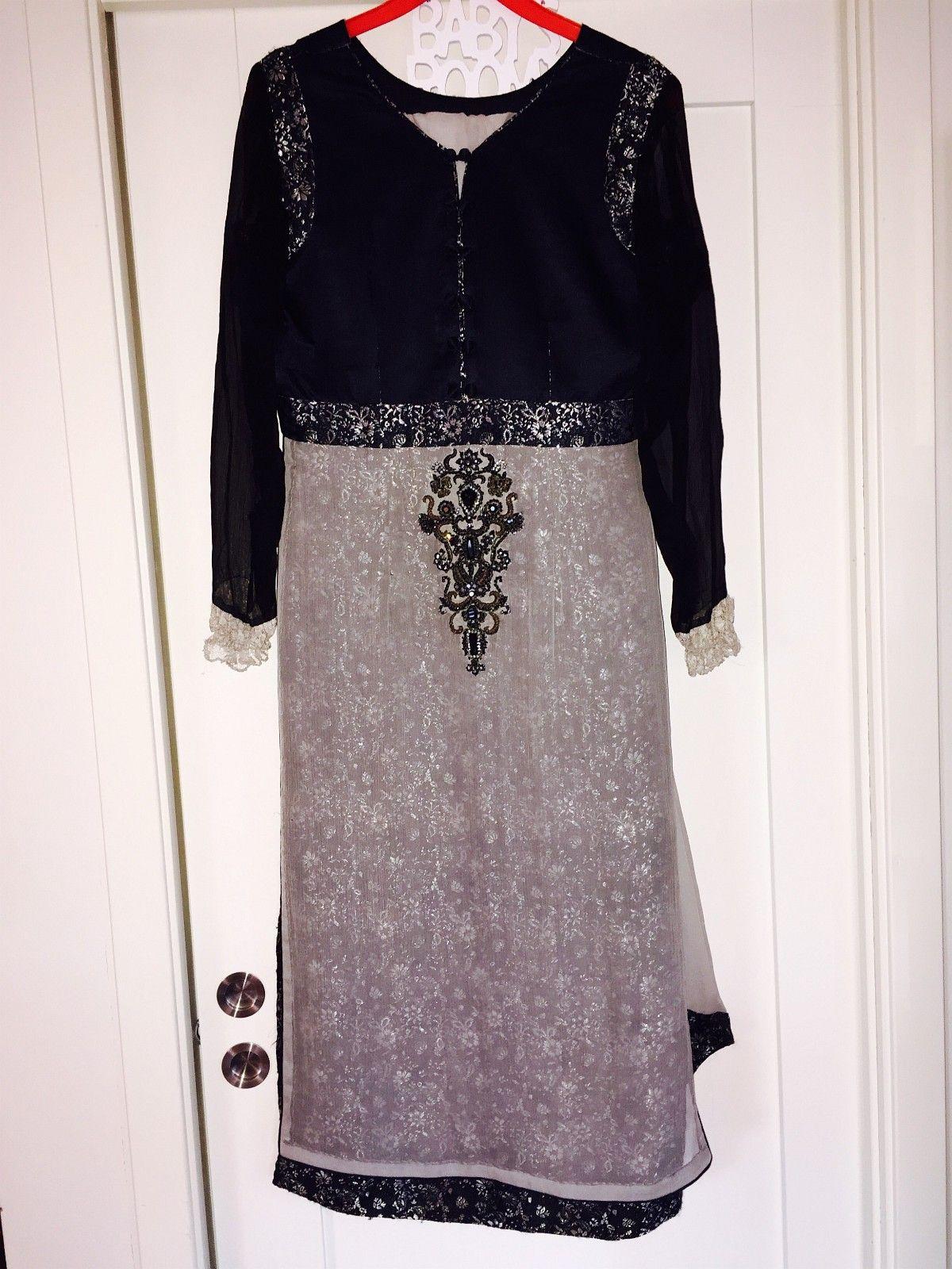 f849b601 Lekker kjole, bukse og sjal. Str 36/38. 399,- (NY) (1/18)