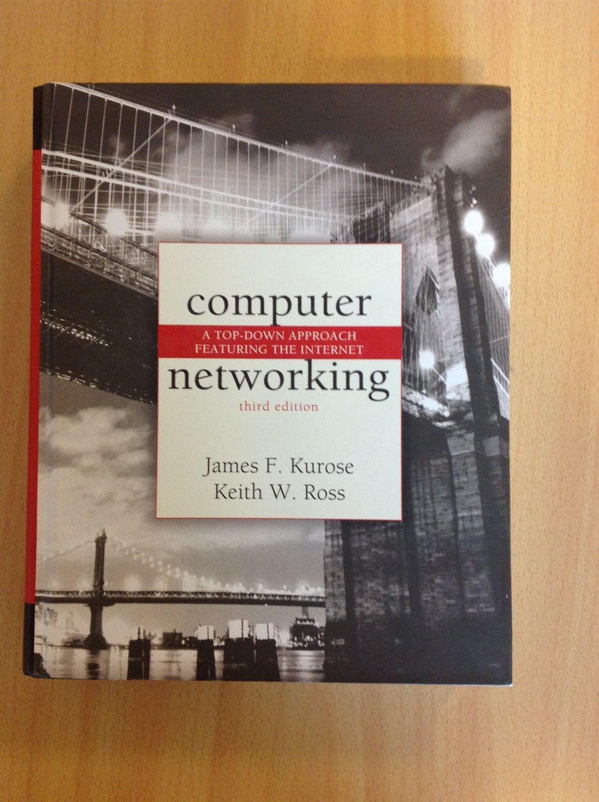 Computer Networking 300kr - Oslo  - Computer Networking Keith W. Ross, James F. Kurose Forlag: Addison Wesley ISBN: 9780321227355 Utgitt: 2005 - Oslo