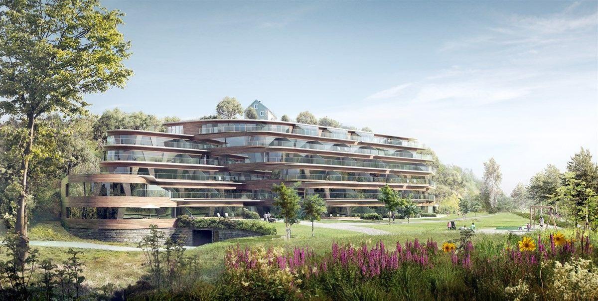 Solrike terrasseleiligheter i praktfullt bygg på Hop! INNFLYTTINGSKLARE! Ta kontakt for visning!!