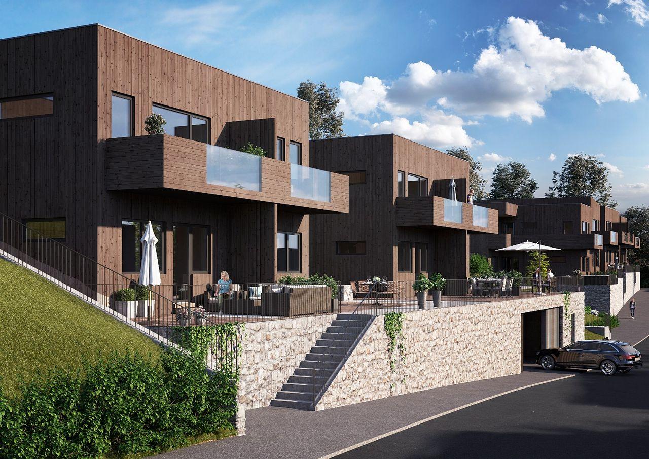Kun 1 hus igjen! Merkurvegen, Nattland - Nye og flotte atriumhus.