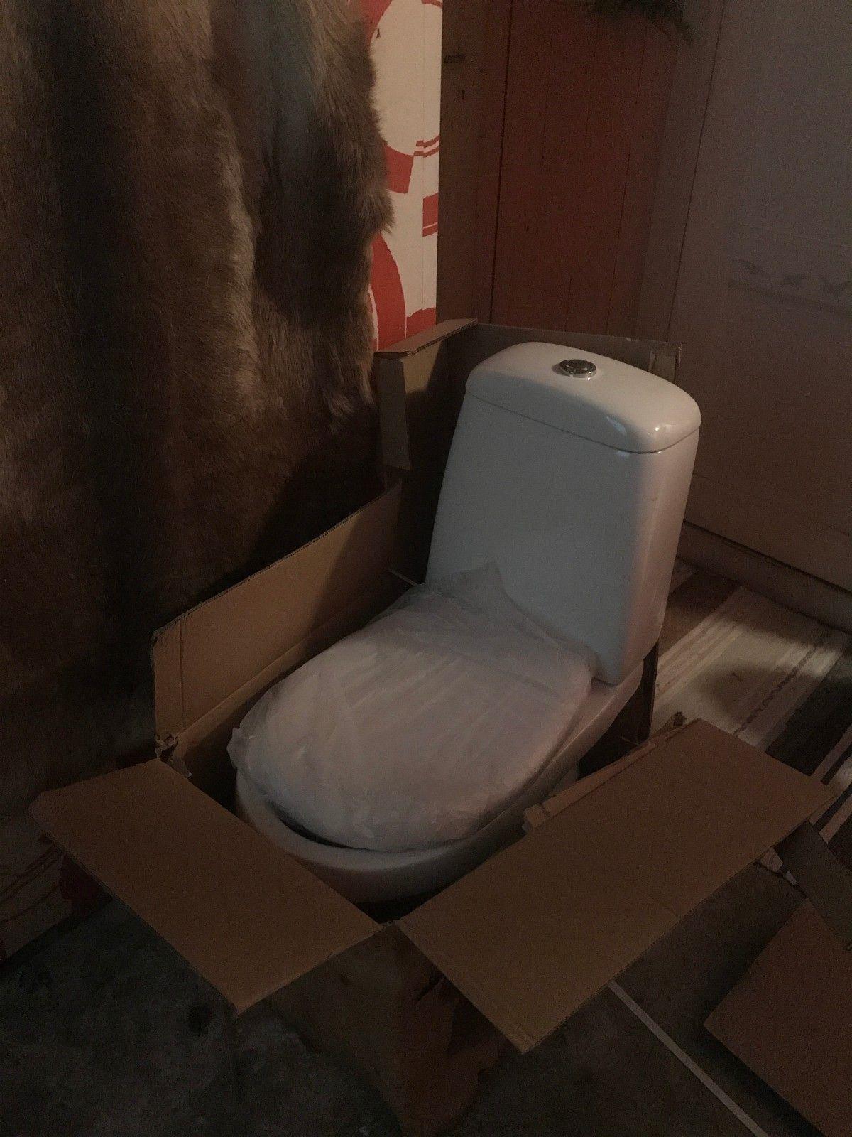 Helt nytt toalett - Tromsø  - Helt ubrukt toalett selges.  Kontakt på 959 95 049 - Tromsø
