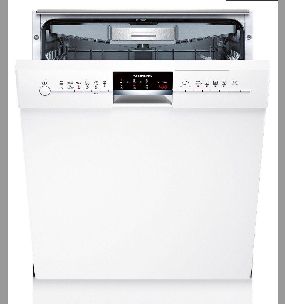 Siemens oppvaskmaskin, kjøpt i desember 2016 - Kongsvinger  - Siemens oppvaskmaskin kjøpt i desember 2016. Se spesifikasjoner på bilde 4, eller gå inn på   http://www.siemens-home.bsh-group.com/no/produktliste/SN46M290SK  Nypris 8899. Selges for hbo 4500 - Kongsvinger