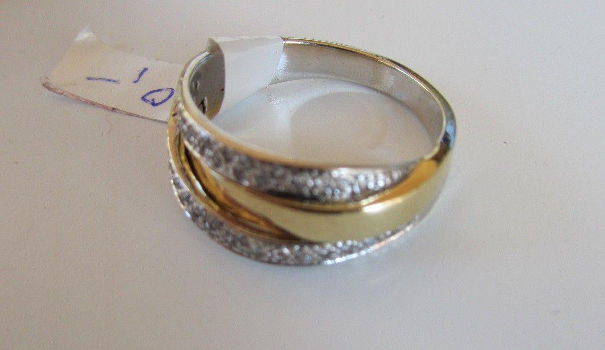 Ring i Hvitt Gull - Vestby  - Ring no 1 Ring i Hvitt gull og Gull  Innvendige mål ca 17-18mm Merket 585 Prisvurdert hos Bjørklund til å være verdt ca kr 4000,- Selges for kr. 1800,-  Ring no 2 Ring i Hvitt gul - Vestby