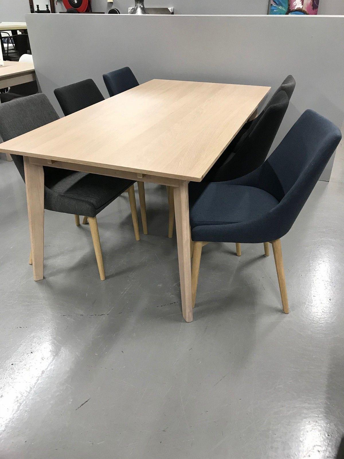 Opprinnelig Nordic spisebord m/6 abby stoler | FINN.no RJ-07