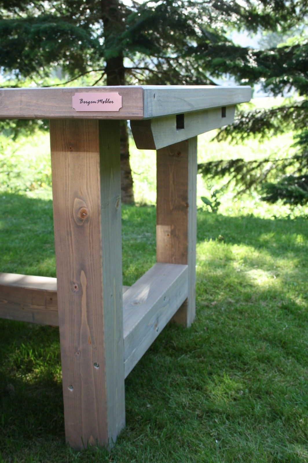 Spisebord i heltre H ben med sporet bordplate   FINN.no