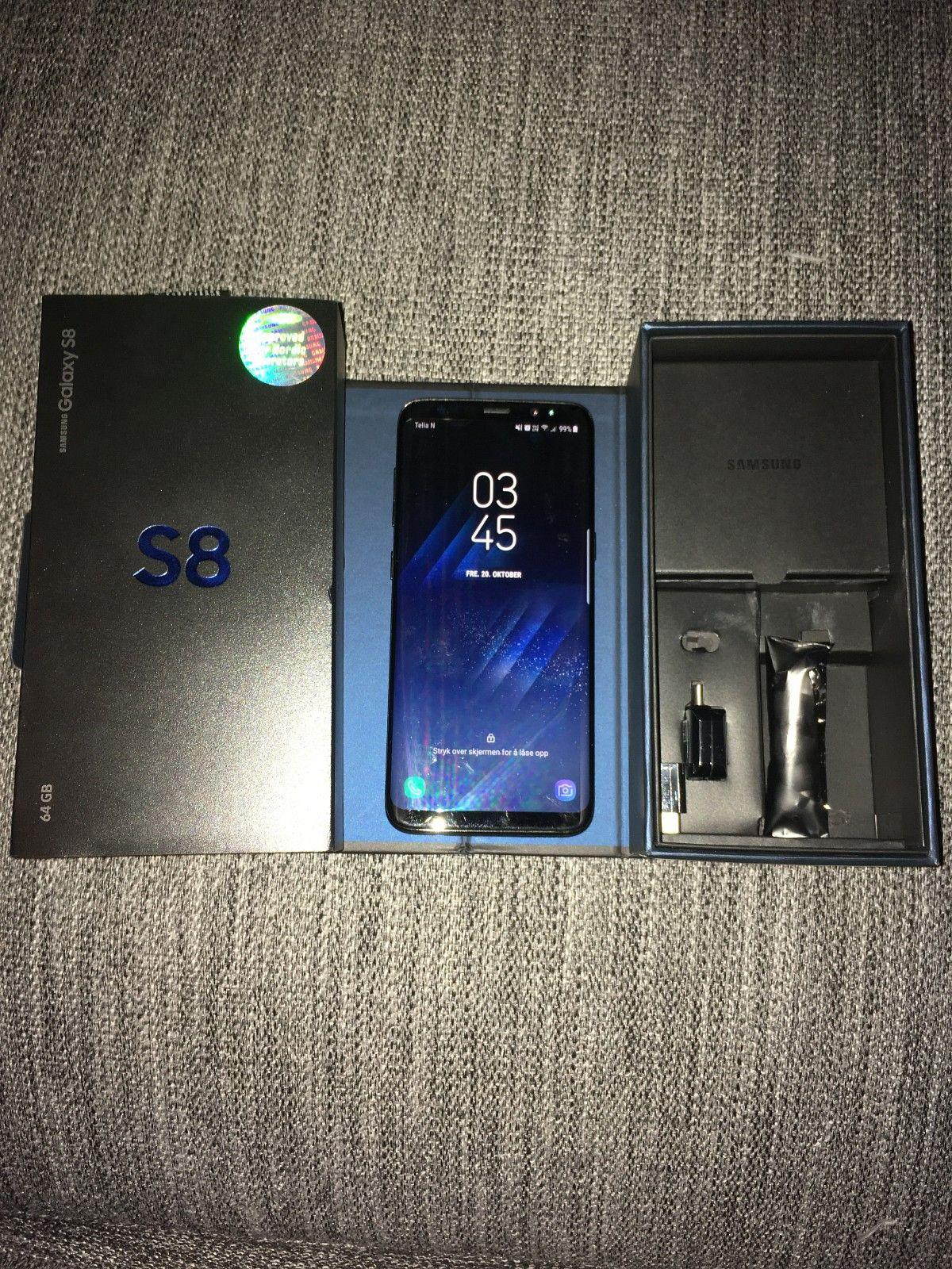Samsung galaxy  s8 - Oslo  - Selger min nye Samsung s8 Lite brukt, kjøpt 24.08.2017 Ingen riper eller skrammer på telefonen. Lader, ørepropper, kvitering osv. følger med. (Selges grunnet at jeg ønsker meg IPhone).   Send SMS  - Oslo