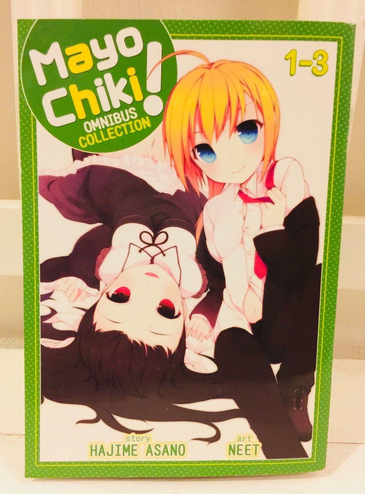 Manga: Mayo Chiki Omnibus Collection 1-3 - Trondheim  - Som ny!  Frakt: 50,-  Kan hentes i Trondheim!  Betaling: vipps, nettbank - Trondheim