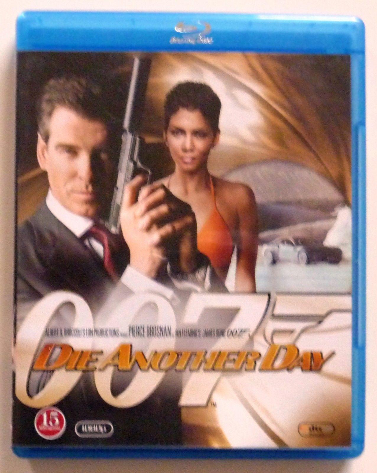 007 Die Another Day - Ski  - 007 Die Another Day med Pierce Brosnan på blueray gir en fantastisk kvalitet. Med ekstra materiell. Spennende film, kr. 50,-. - Ski