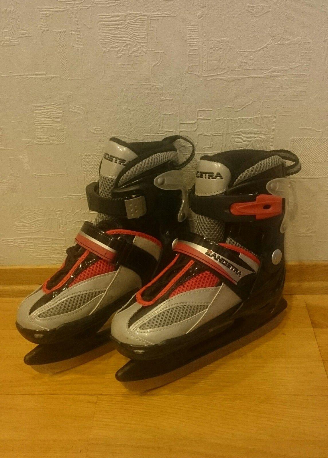 Kids adjustable ice skates. Size 27-30 - Trondheim  - Kids ice-skates. Adjustable size, 27-30. Good condition. Made by Zandstra. - Trondheim