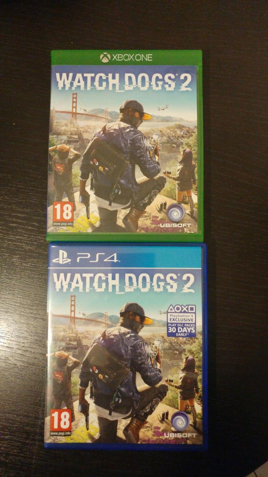 Watch dogs 2 Xbox one/PS4 - Rolvsøy  - Selger Watch Dogs 2 til Xbox One eller Playstation 4. Kan sendes på kjøperens regning. - Rolvsøy