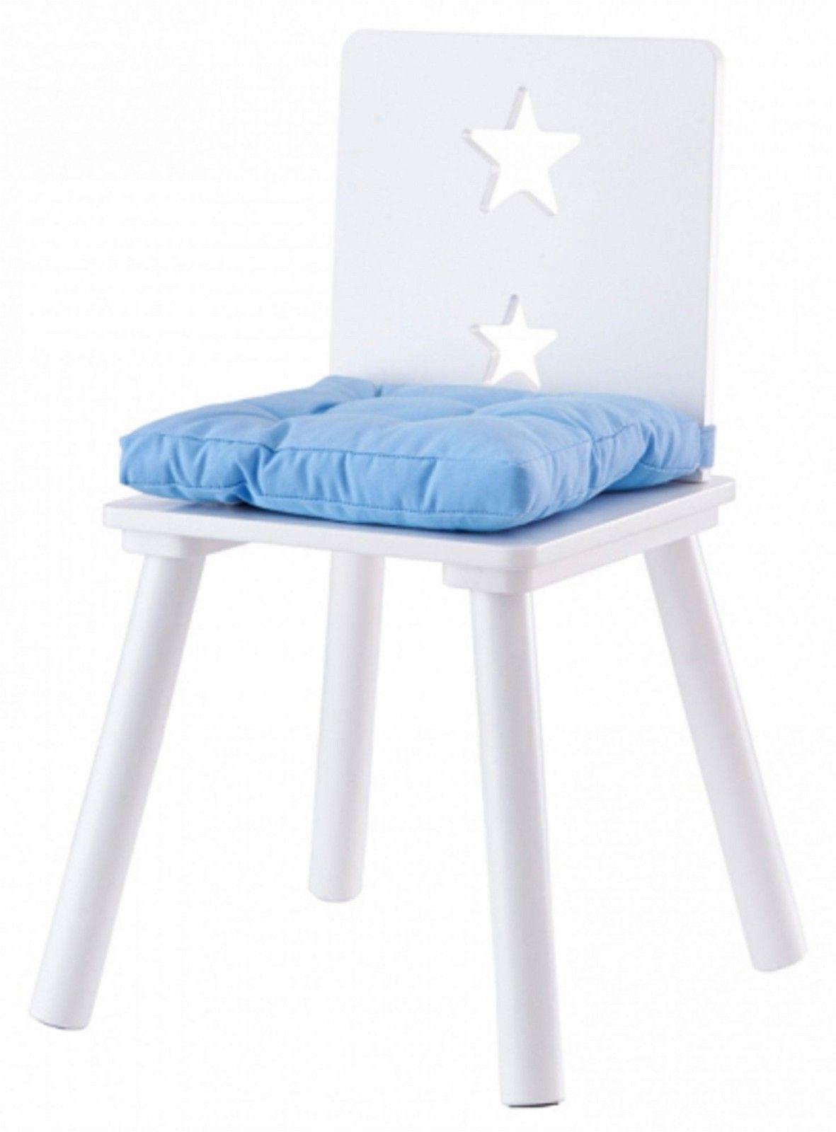 Stoler blå fra Kids consept i tre 2 stk med puter - Oslo  - Ny pris kr 1000 for to, 1 kr 500, putene koster kr 150 per stykk. Selges samlet for kr 700 - Oslo