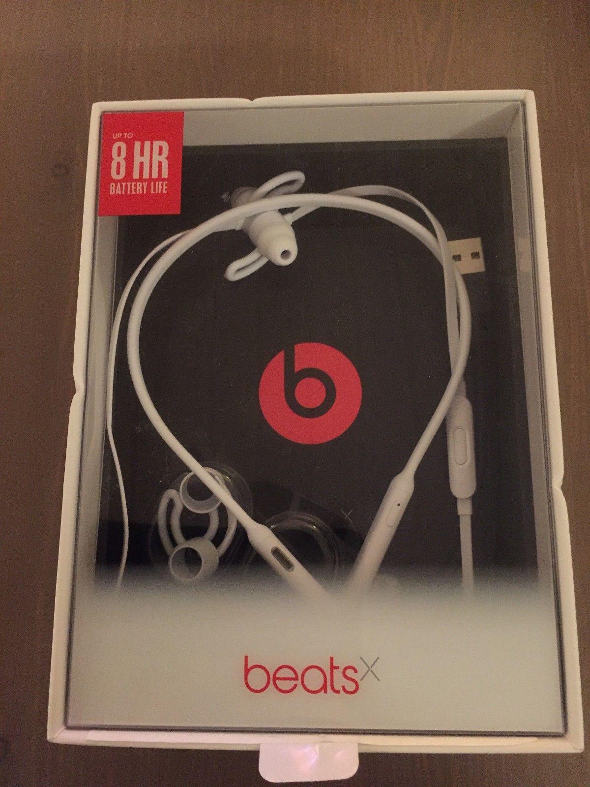 Beats X trådløse øretelefoner - Råholt  - Beats X trådløse øretelefoner selges. Brukt kun en gang. Kjøpt i 31/7-17, har kvittering. Nypris 1166,-, selges kr 700,- - Råholt
