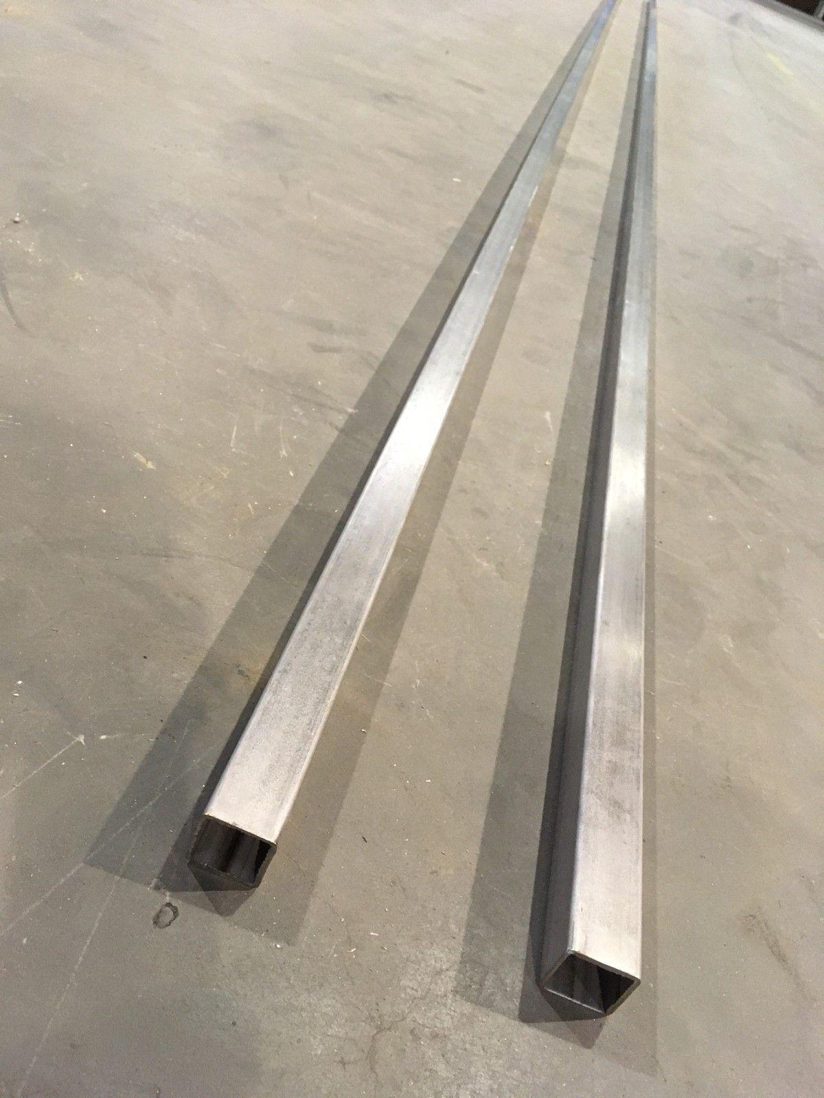 Rustfritt Stål Firk.Rør 30x30x2 - Jakobsli  - Firkant rør 30x30x2 (uslipt) selges. 2x6 meter. (Totalt 12 meter) - Jakobsli