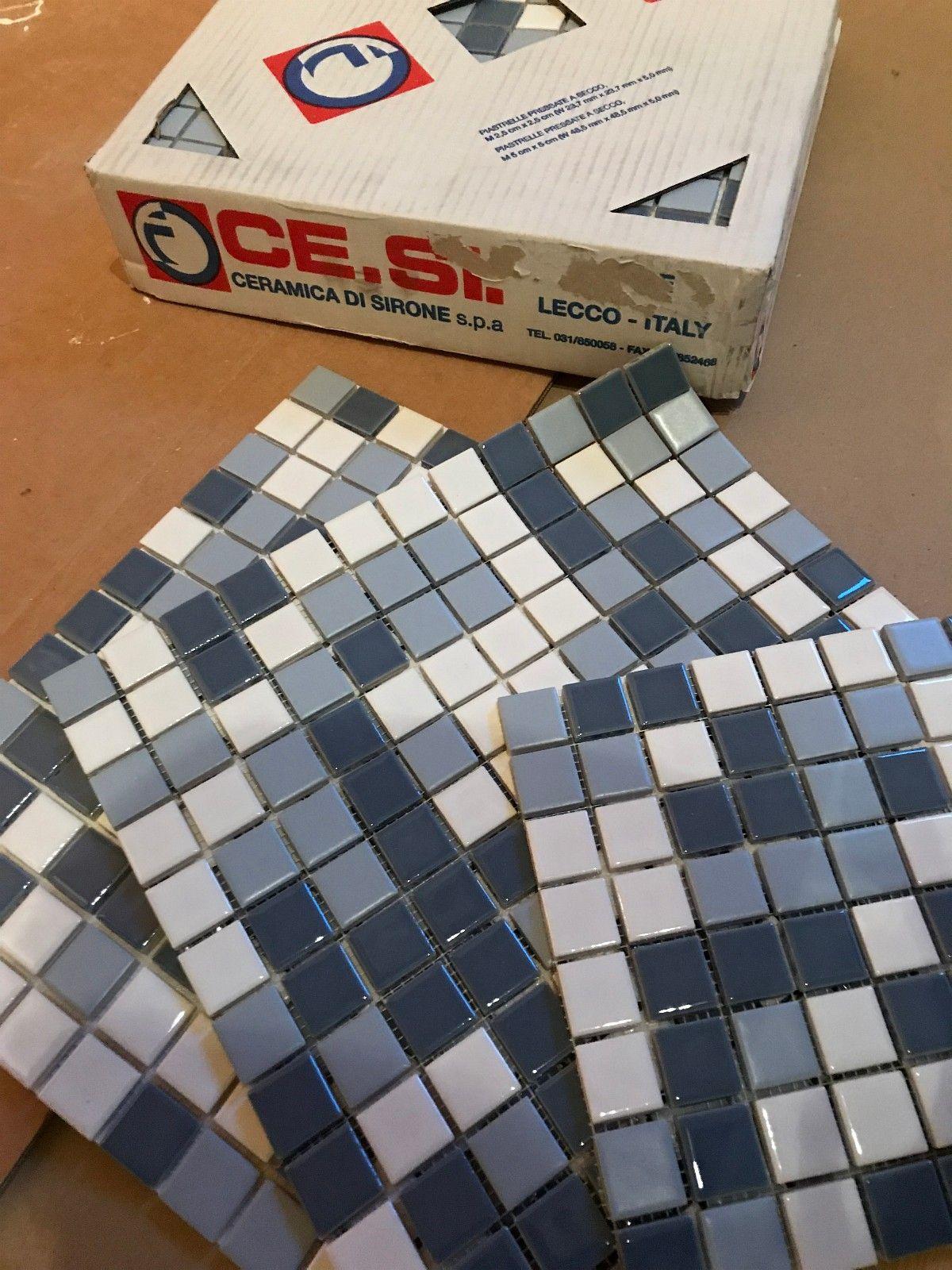 Mosaikkfliser fra Flisekompaniet - Oslo  - Etter oppussingen har vi noen mosaikkfliser til overs. De ble kjøpt på Flisekompaniet i august (bestillingsvare), og kostet ca 1000kr pr.kvm. Vi har igjen 1 kvm og noen plater til. - Oslo