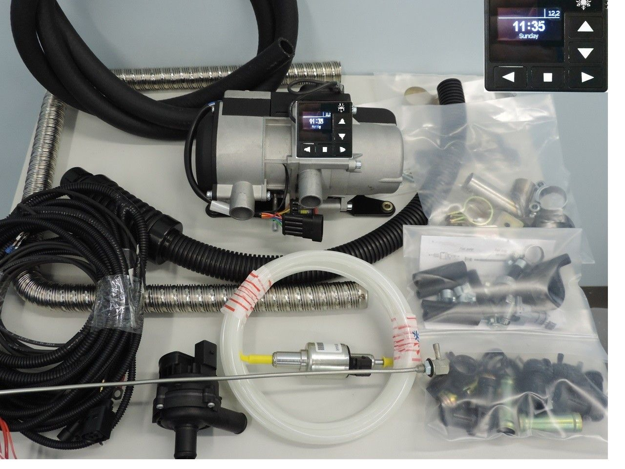 Autoterm 5 KW motorvarmer til traktor 2 års garanti Pris ink mva | FINN.no