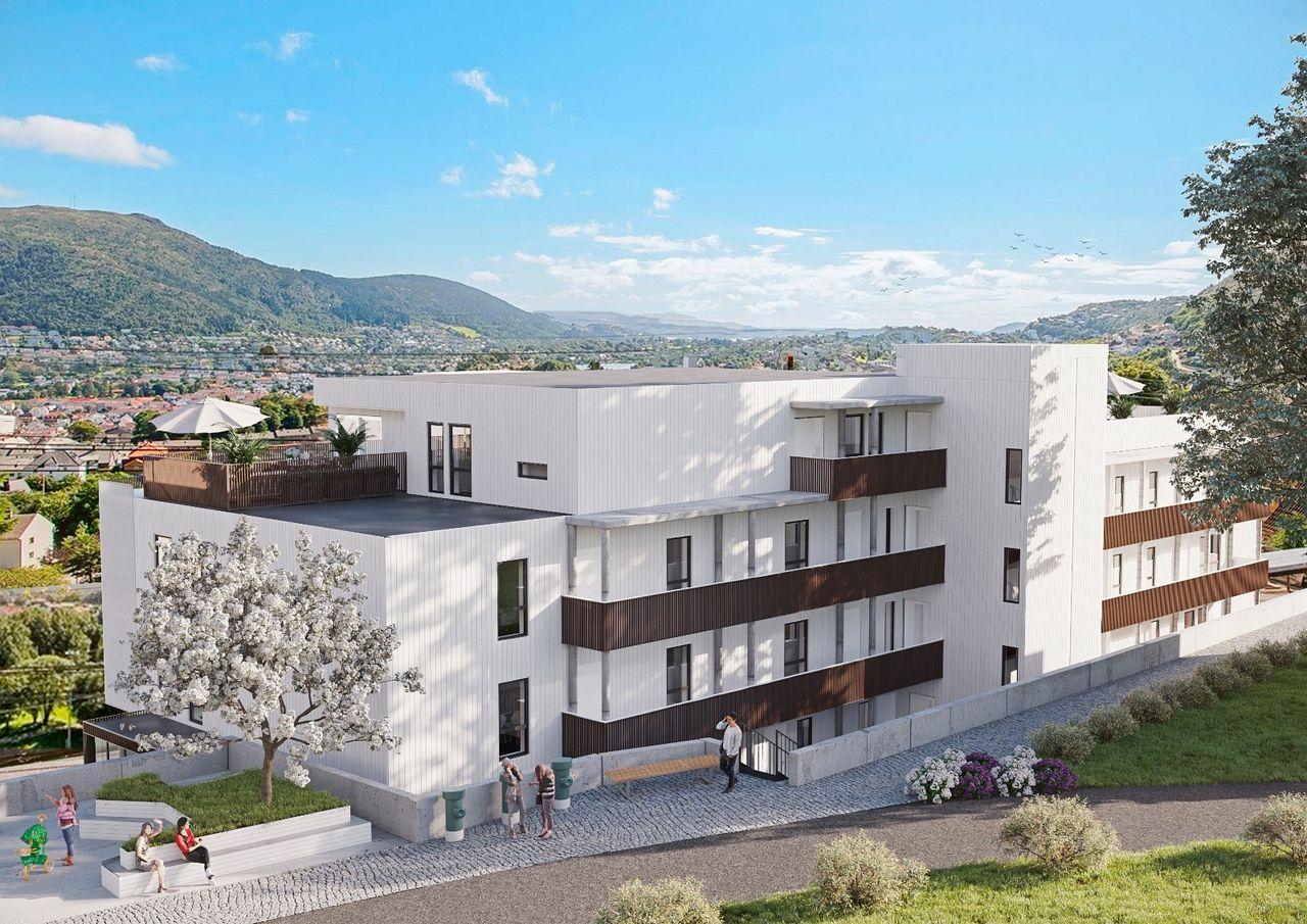 Arkitekttegnede leiligheter med sentral og solrik beliggenhet i Nattlandsveien