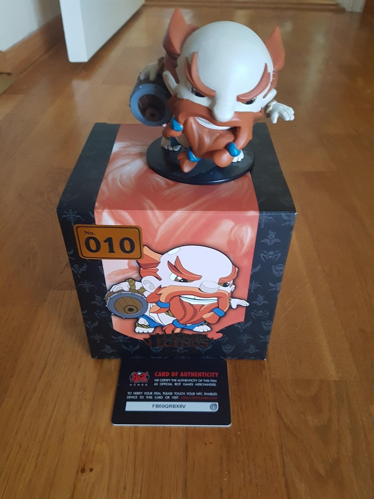 League of Legends Gragas minifig - Hafrsfjord  - Som ny League of Legends Gragas minifig. 10,8 x 9,5cm. - Hafrsfjord