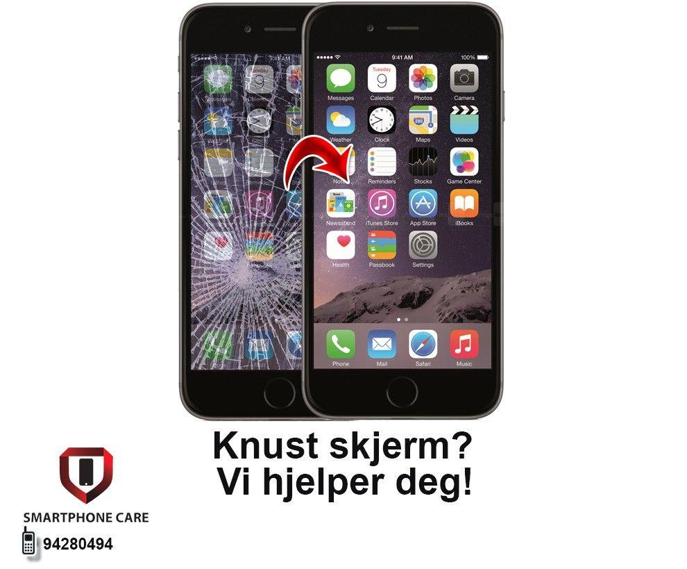 iphone 1 ny skjerm