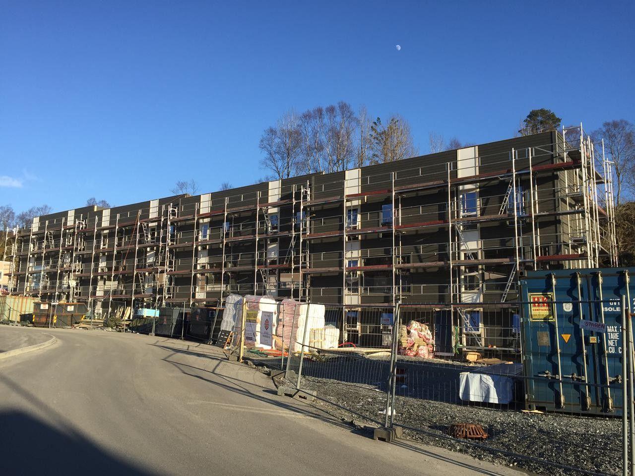 SÆDALEN  INNFLYTTING 3. kvartal 2017 - 8 nye rekkehus med stor takterrasse - Kun 3 igjen!