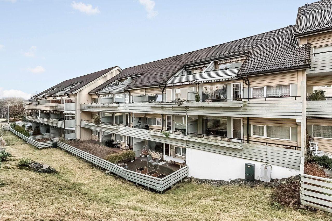 4 roms leilighet med terrasse ved Solheimsviken
