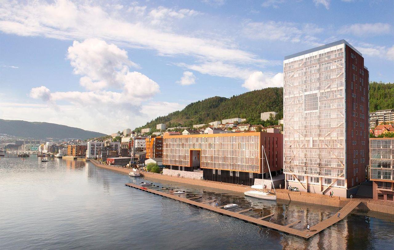 Portalen - Flotte selveierleiligheter på bryggekanten fra 2.700.000,- Det gode liv med nærhet til by, sjø og fjell. Mer enn bare en leilighet.