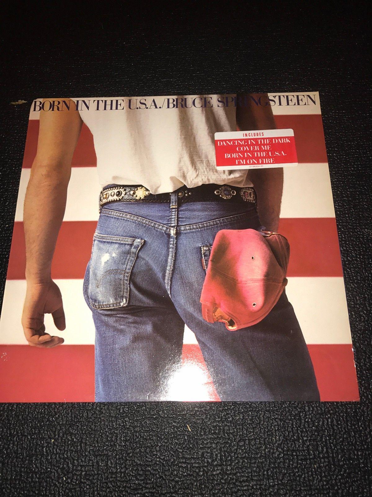 Bruce Sprinsteen-Born in the Usa LP - Klokkarstua  - Bruce Springsteen LP Born in the Usa,i god stand.Kjøper betaler frakt. - Klokkarstua