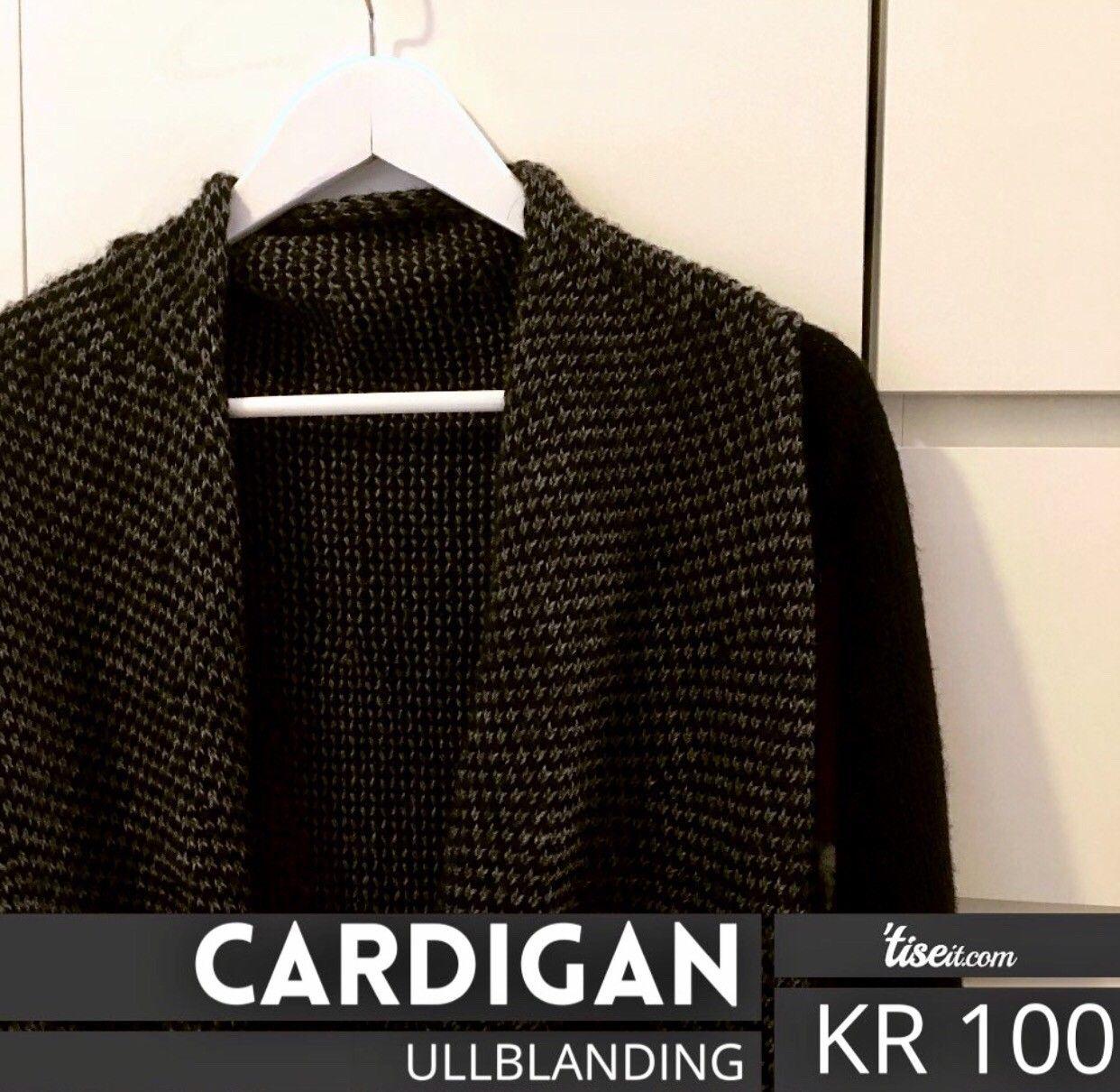Cardigan ullblanding - Sandefjord  - Deilig Cardigan i ullblanding, kjøpt i London. Kan sendes mot at kjøper dekker porto. Kun forhåndsbetaling, Vipps eller cash. - Sandefjord