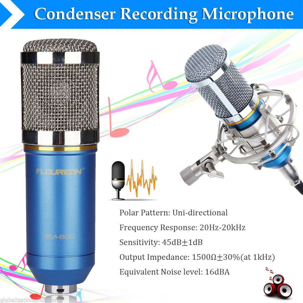 Floureon BM 800 Kondenser Studio Mikrofon   FINN.no