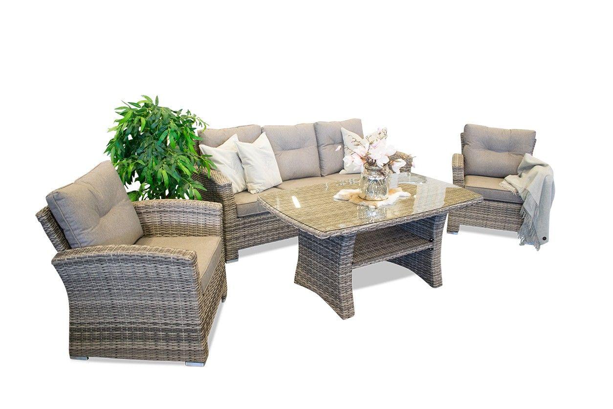 Fersk Hawaii hagemøbler/hagemøbel/sofa/utemøbler/rotting/spisegruppe PY-07