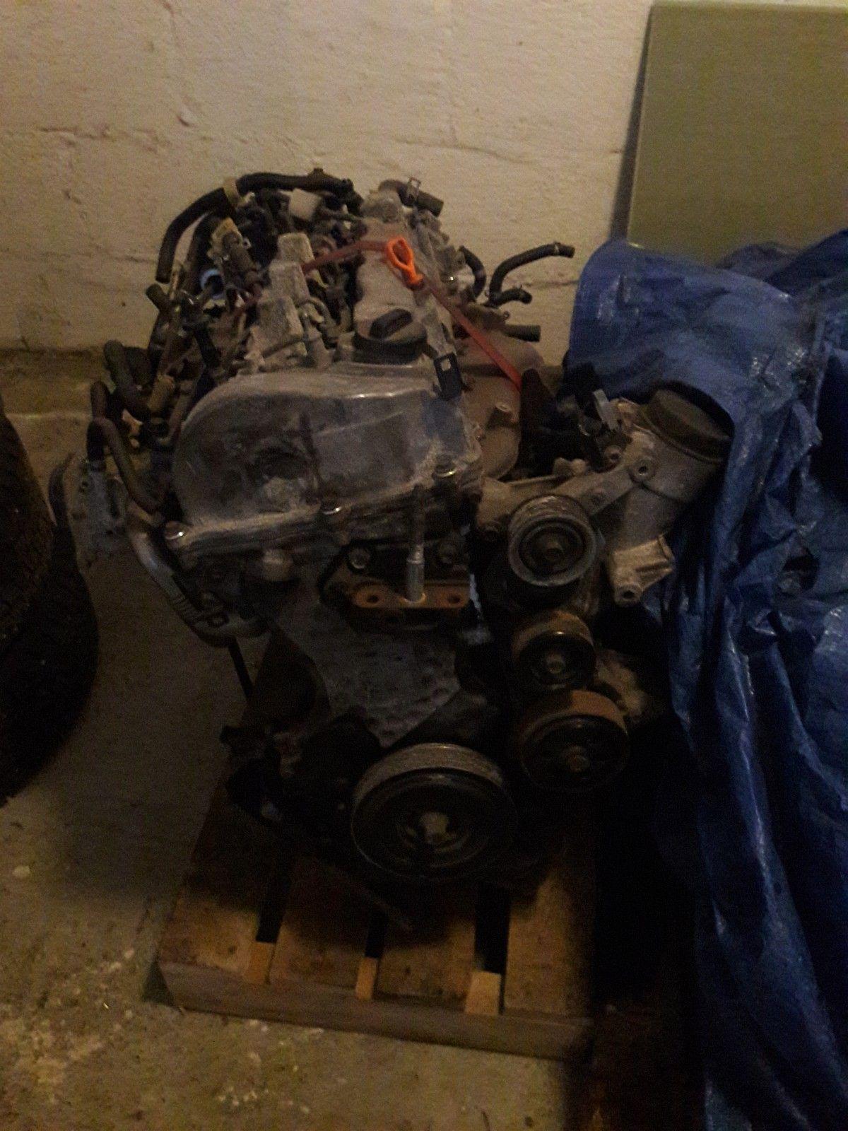 Motor honda i-dtec 2.2 n22b1 Accord crv - Vatne  - Motor komplet med dyse og diesel pumpe. Og alle deler hva er på bilder. Mangle turbo. Motor har 120.000km. Jeg kan gi garanti på start. - Vatne