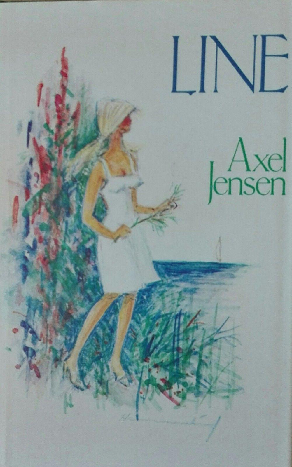 Axel Jensen: Line - Oslo  - Axel Jensen: Line. Oslo 1980. Bokklubben. 8vo. 263 s. Granitolbind med smussomslag. Hvit rygg med blå tittel. Pen. - Oslo
