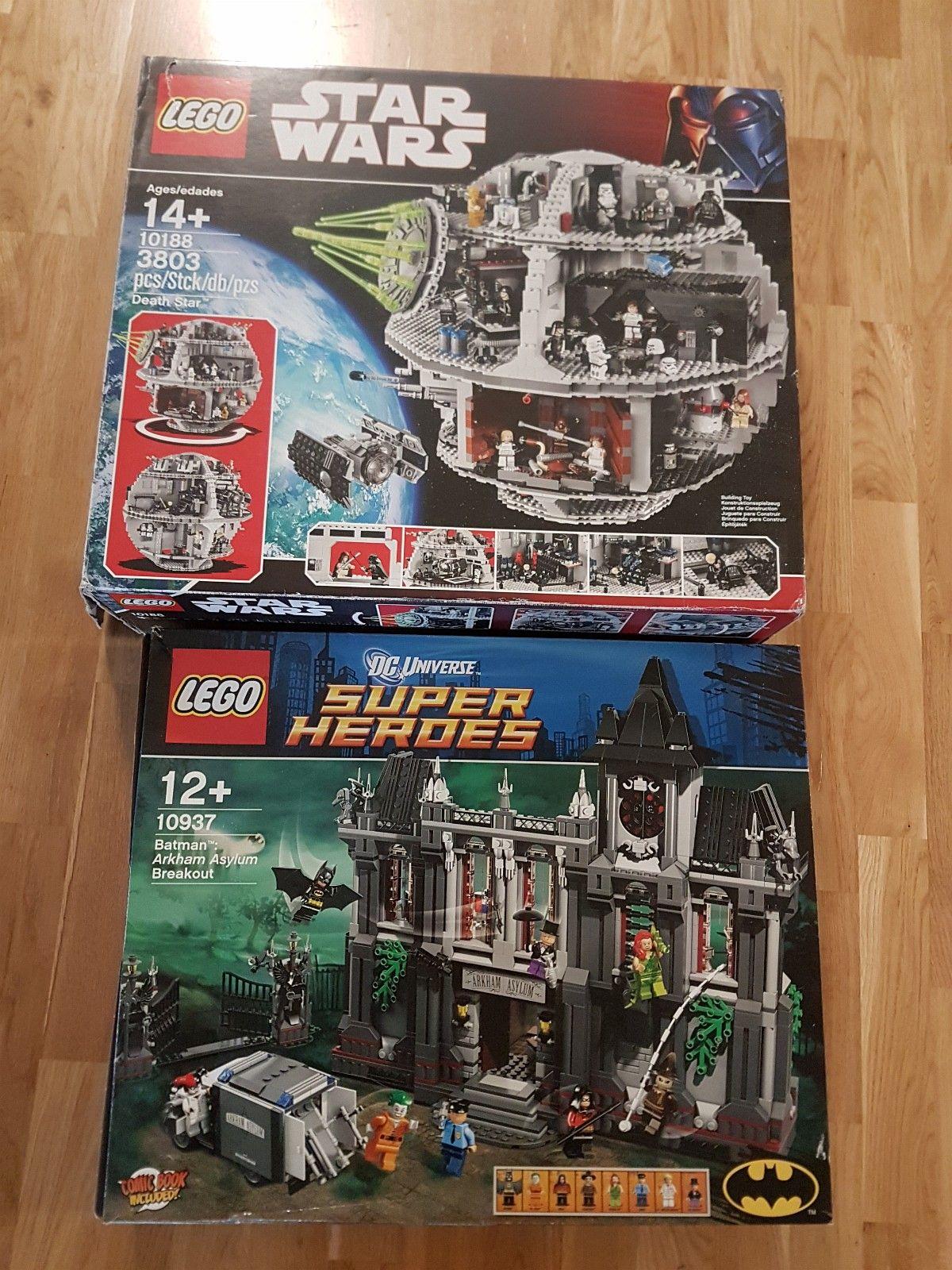Lego selges! - Svorkmo  - Legger noe motvillig ut disse settene for salg. Begge er bygd en gang og plukket ned pga flytting. Komplette sett, pakket i plastposer.  Gi bud! - Svorkmo