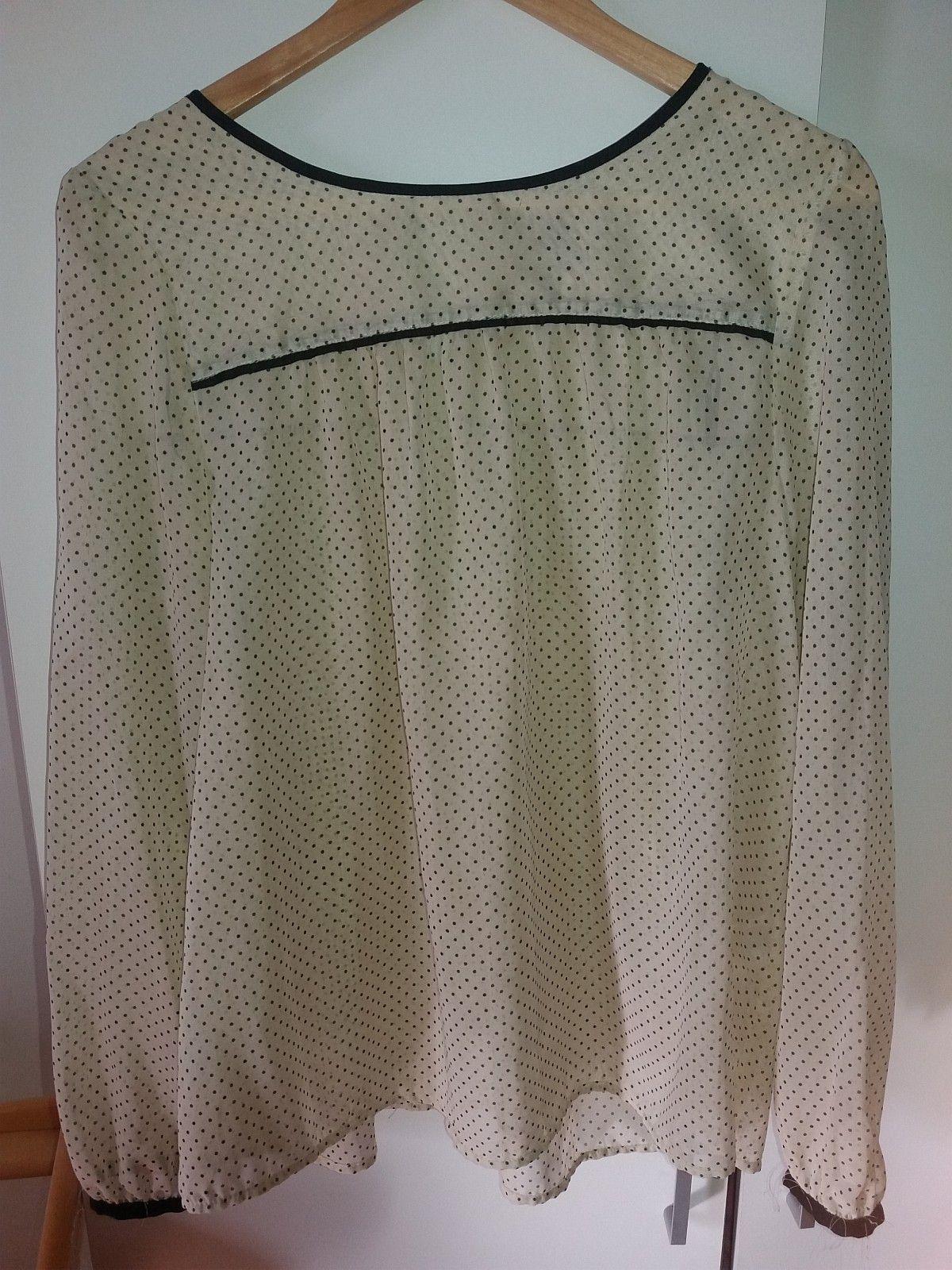 blouse cream color str 38 - Oslo  - blouse from H&M seldom use..... - Oslo