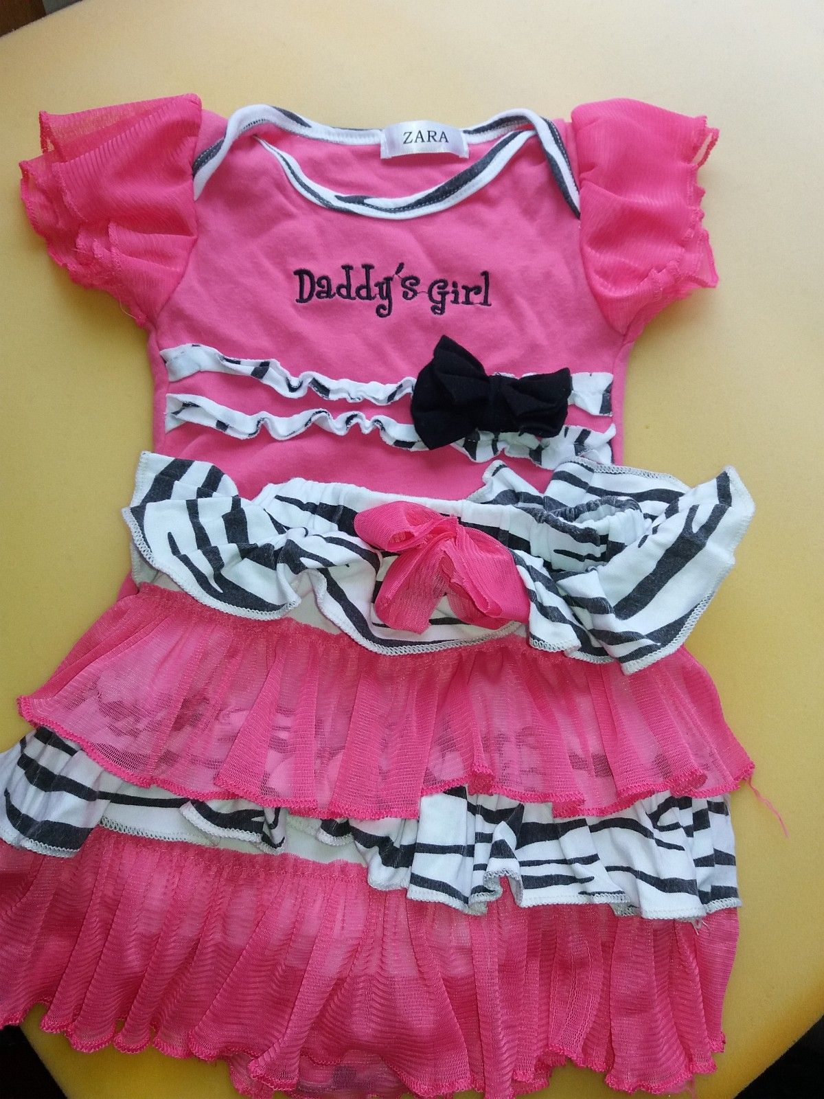 cute pink body and skirt for baby - Oslo  - cute summer attire for baby.....in very good cndition..can be pick up at vinderen - Oslo