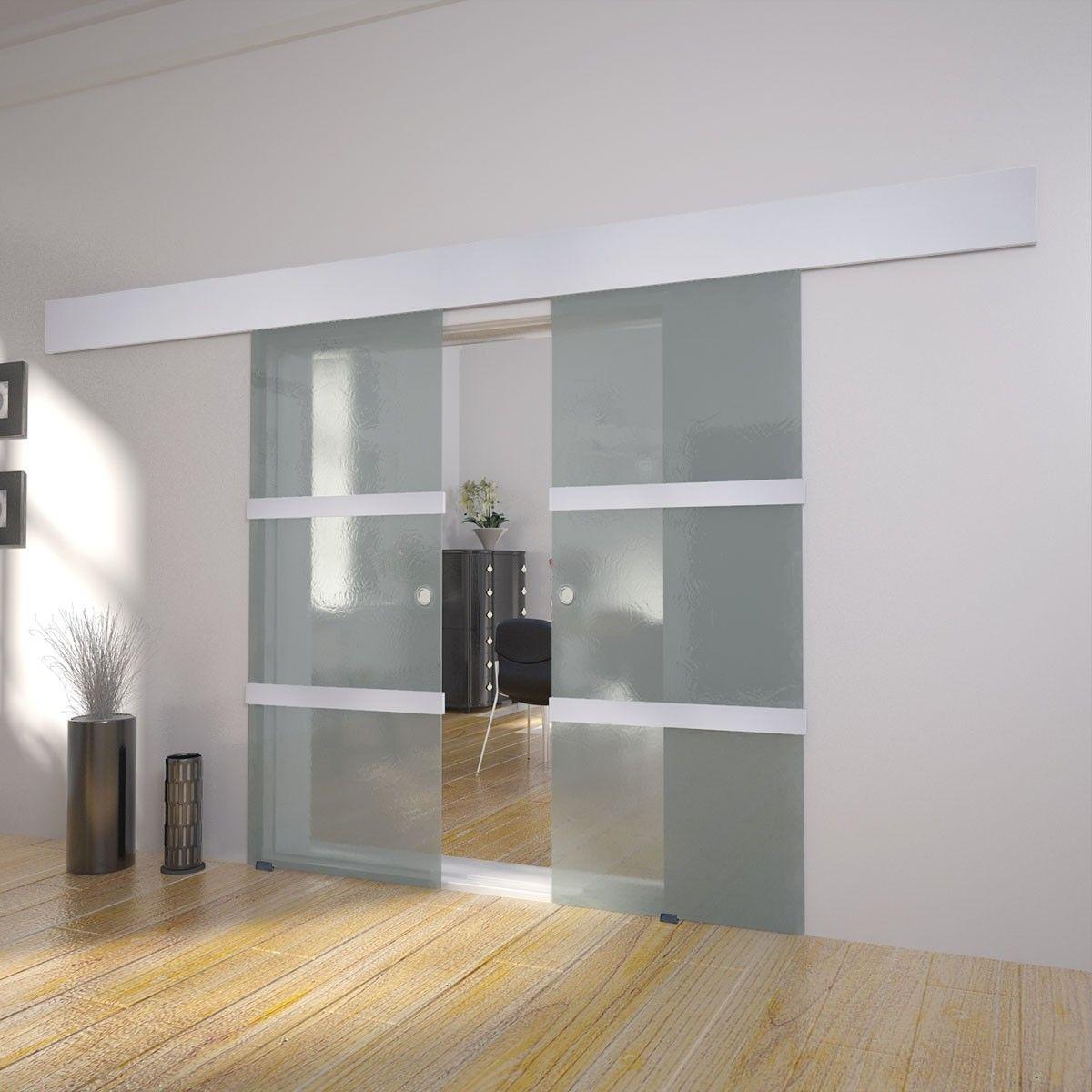 Vidaxl doble skyved rer glass 273735 - Pintar paredes blancas ...