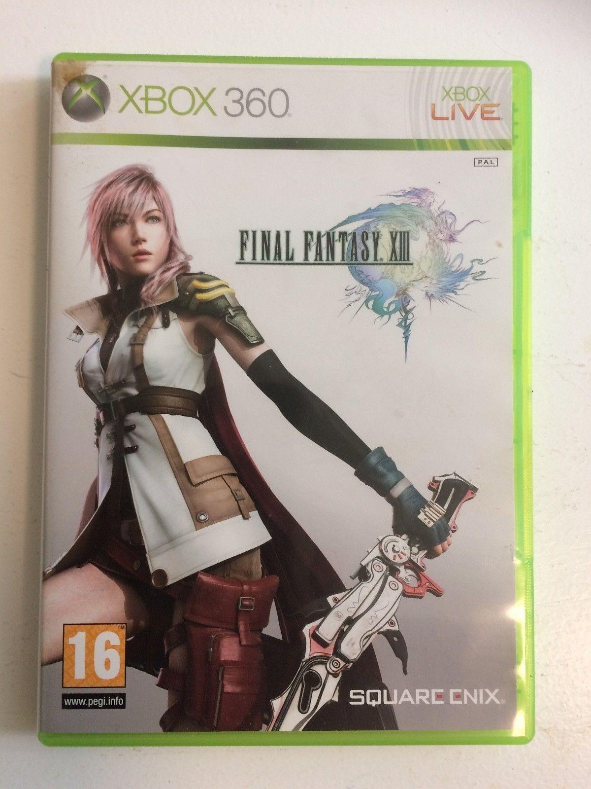 Final Fantasy XIII XBOX 360 - Skien  - Final Fantasy XIII til XBOX 360 selges for kr 50.  Kan hentes i Skien eller sendes etter Posten sine satser. - Skien