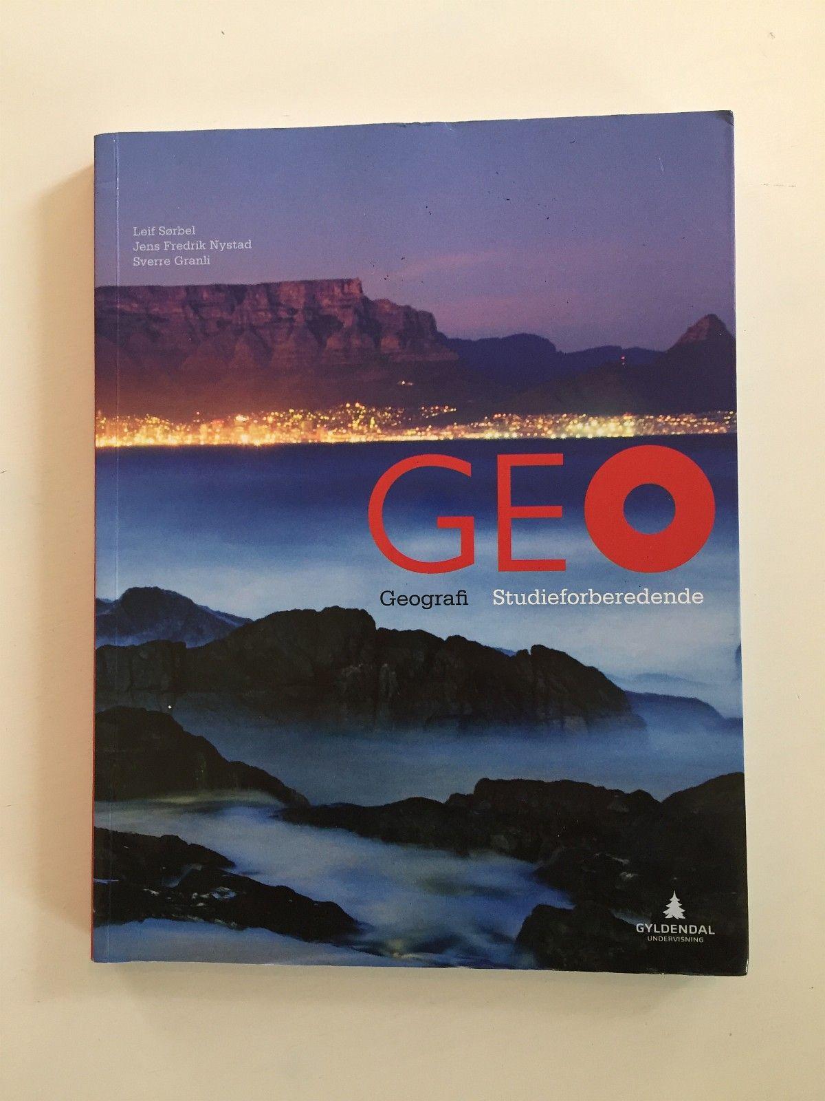 GEO Geografi Studieforberedende - Stavanger  - Skrevet av Sørbel, Nystad og Granli.   Kjøpt ny i 2017.   Ble kun brukt som forberedelseslesing for privatundervisning. - Stavanger