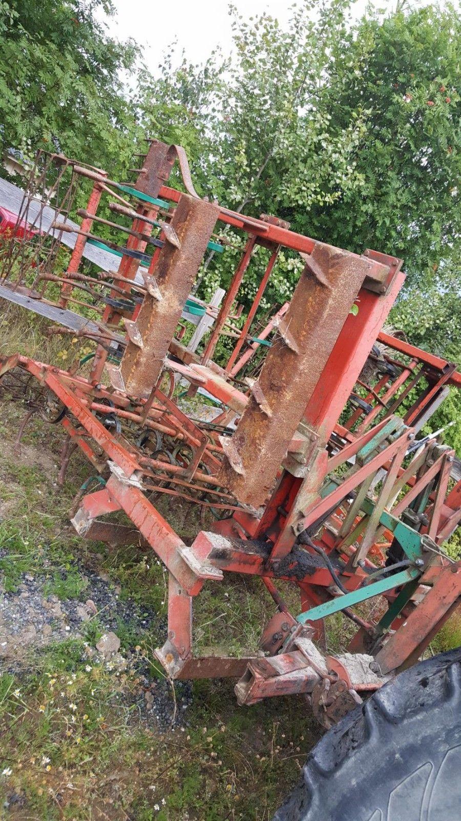 Kverneland sloddeharv - Gan  - Kverneland slodde harv 3.6 meter. Med slepe drag, svetter litt fra sylinder. Selges 20000,- + Mva - Gan