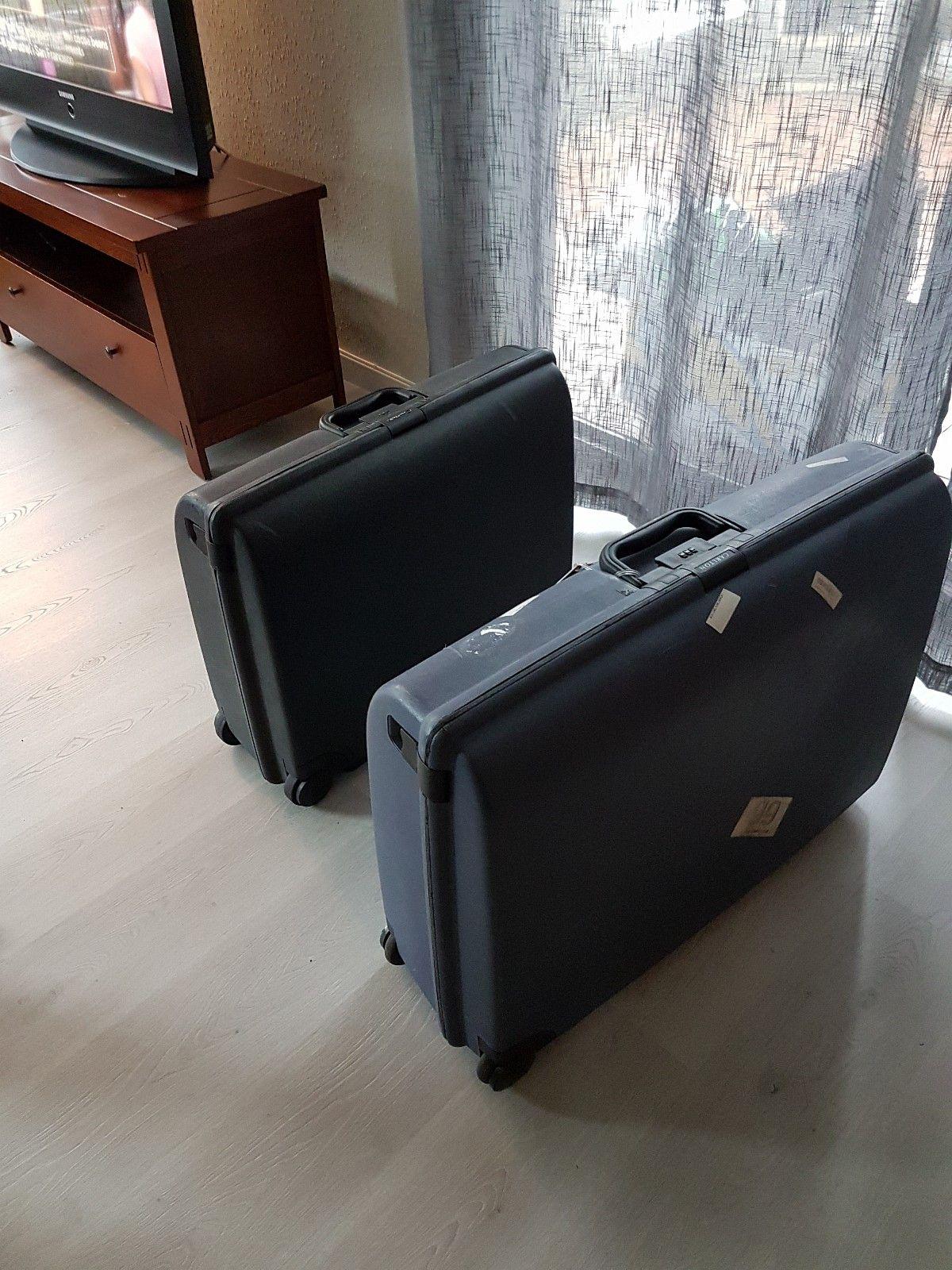 Carlton kofferter - Raufoss  - 2 stk carlton kofferter, 100 kr pr stk. - Raufoss